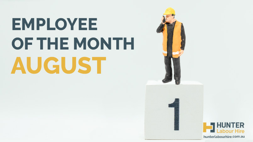 Employee of the Month - August - HLH Group - Thomas James