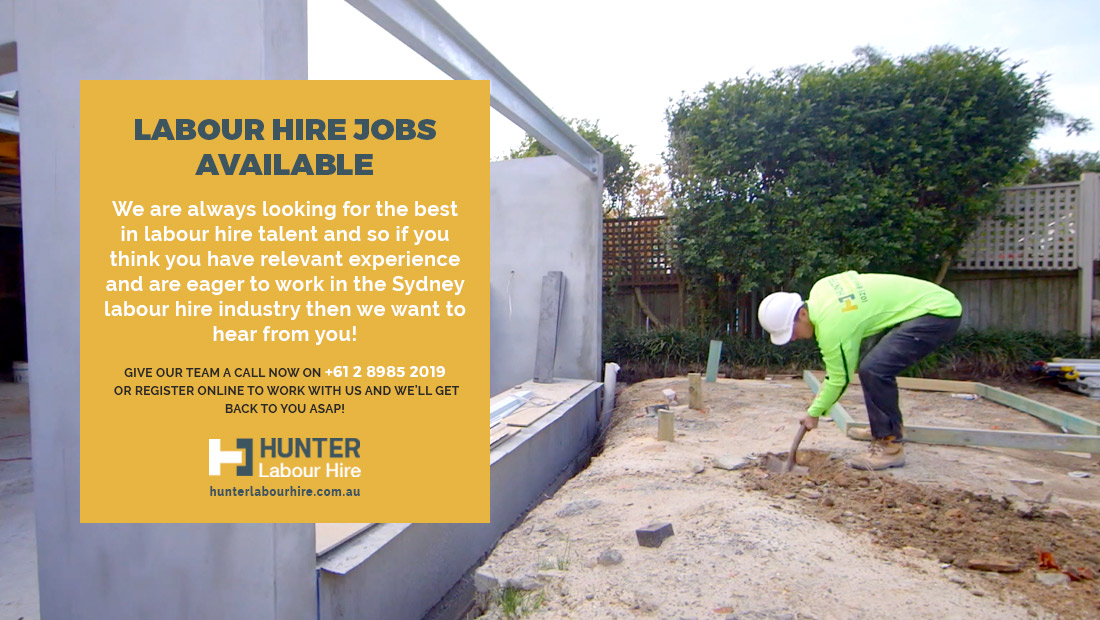 Labour Hire Jobs Available - HLH - Sydney
