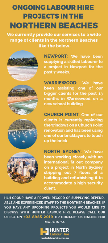 Ongoing Labour Hire Projects - Northern Beaches - HLH Group
