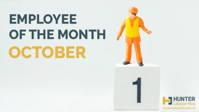 Employee of the Month - October 2019 - HLH Labour Hire Sydney