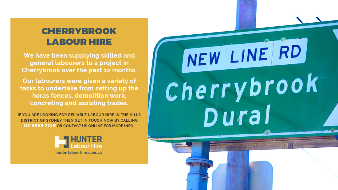 Cherrybrook Labour Hire Hills District - Hunter Labour - Sydney