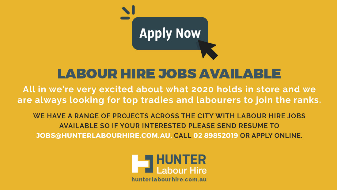 Labour Hire Jobs Available Sydney 2020 - Hunter Labour Hire