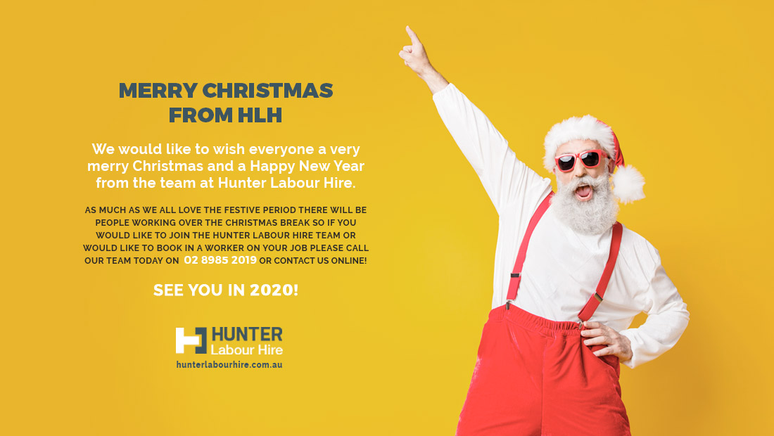 Merry Christmas from Hunter Labour Hire 2019