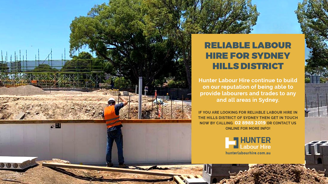 Reliable Labour Hire for Sydney Hills District - HLH Group