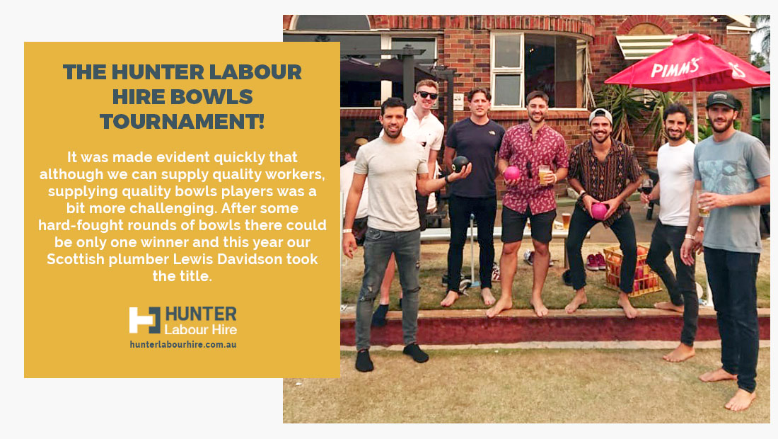 The HLH Christmas Bowls Tournament 2019 - Hunter Labour Hire