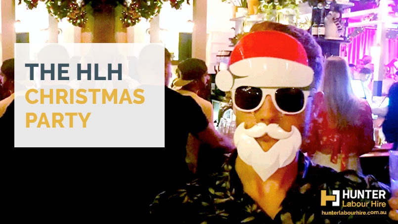 The HLH Christmas Party - Hunter Labour Hire 2019