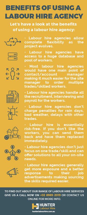 Benefits of Labour Hire vs Contractor - Hunter Labour Hire - Sydney