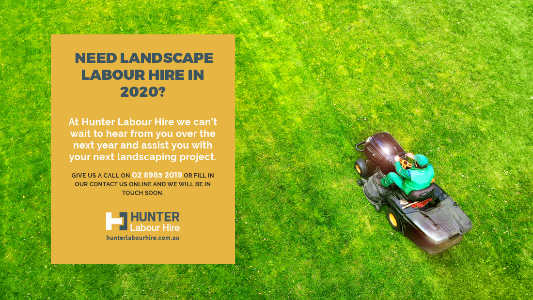 Hire Landscaper Sydney - Hunter Labour Hire