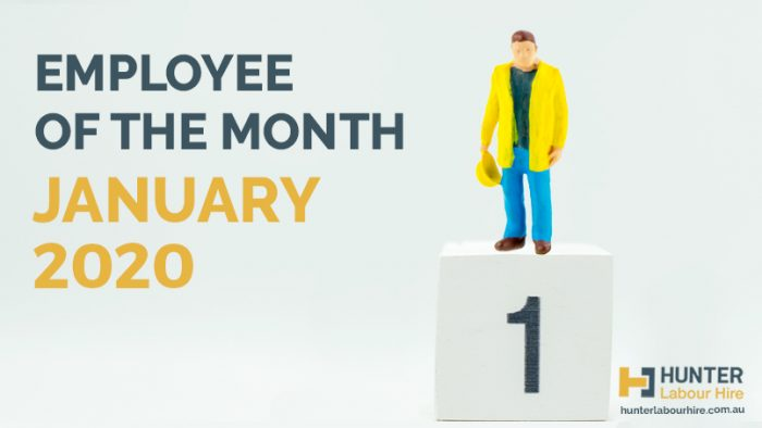 Employee of the Month - January 2020 - Mark Pye