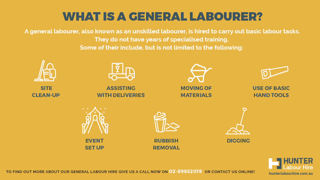 What Is A General Labourer - Hunter Labour Sydney