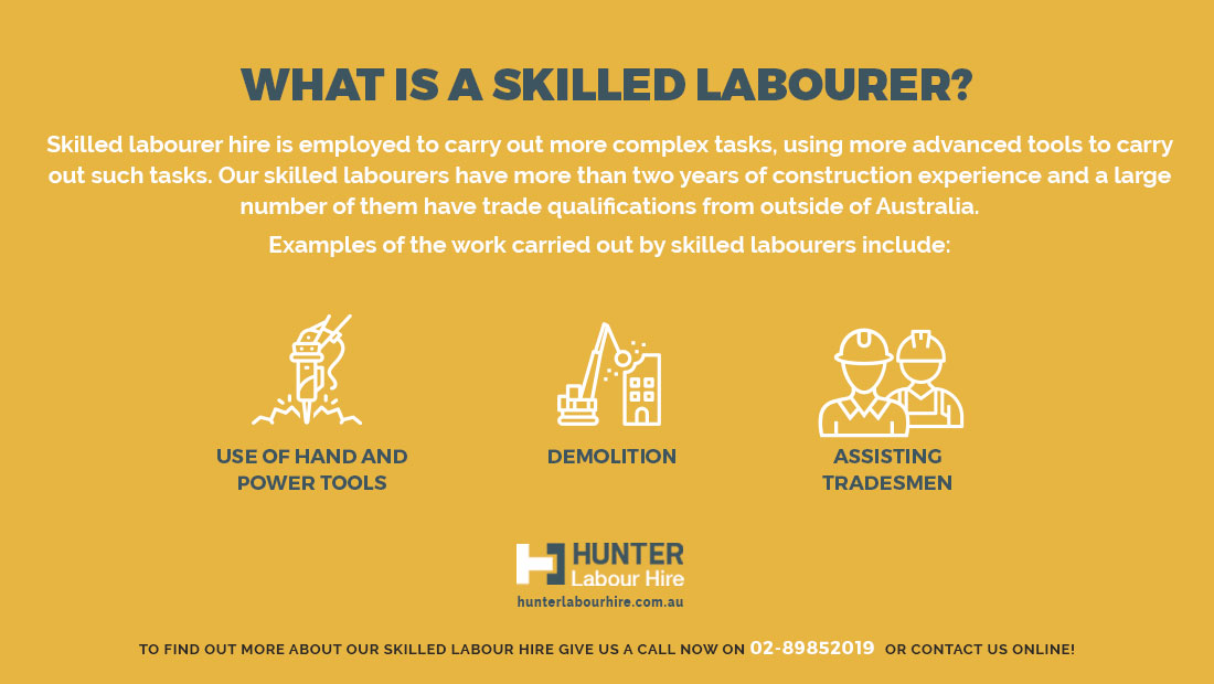 What Is A Skilled Labourer - Hunter Labour Sydney