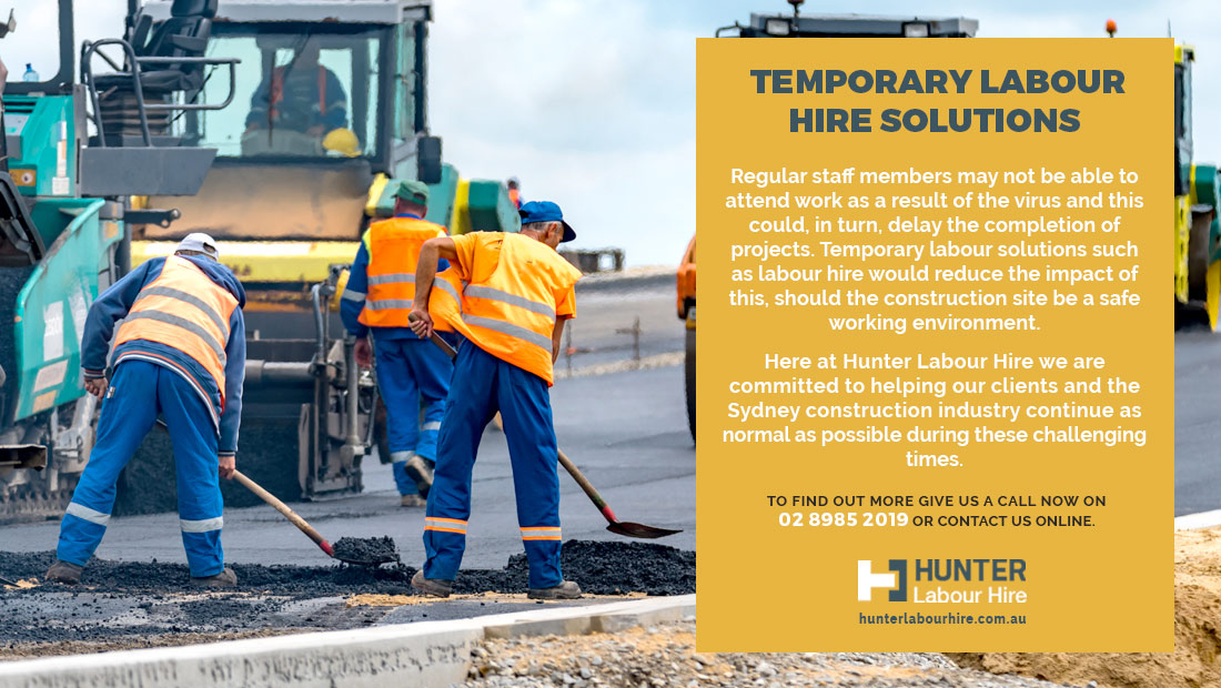 Coronavirus - Temporary Labour Hire Solutions - HLH Sydney