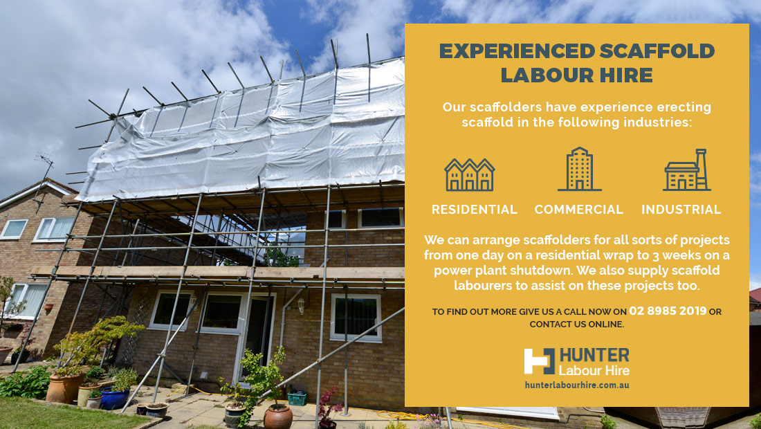 Experienced Scaffold Labour Hire - HLH Group