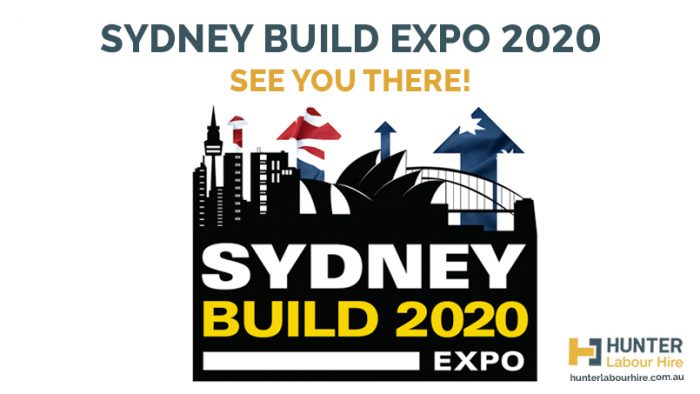 Sydney Build Expo 2020 - Hunter Labour Hire
