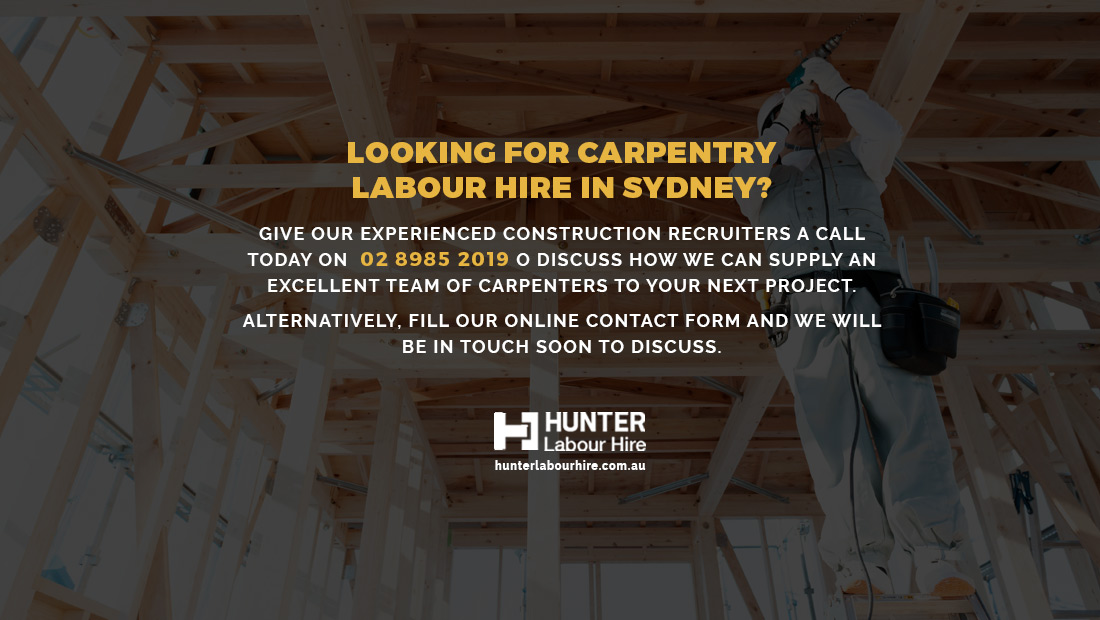 Carpentry Labour Hire in Sydney - HLH Group
