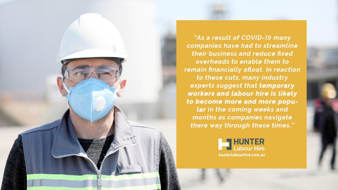 Construction Site - Temporary Labour Hire for Covid-19 - Hunter Labour Hire - Sydney
