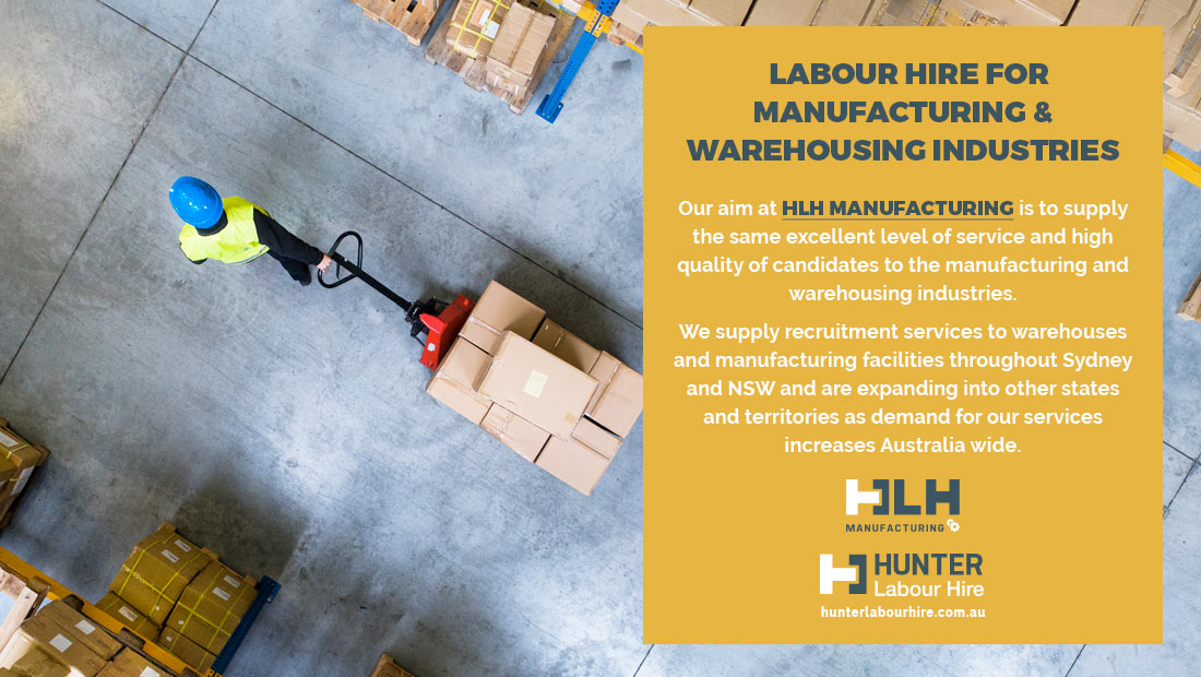 Labour Hire Manufacturing - Warehouse Industries - Sydney - HLH Group