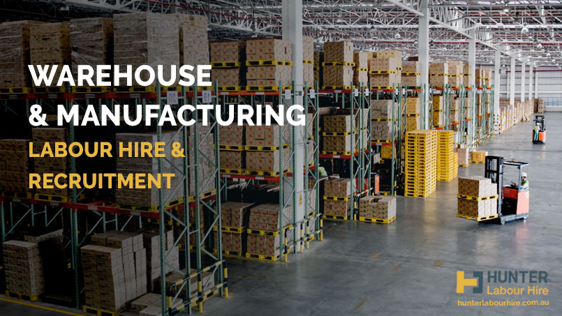 Warehouse and Manufacturing - Labour Hire Recruitment - HLH Group Sydney