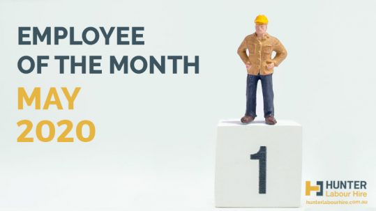 Employee of the Month - May 2020 - HLH Hire Construction Labour Hire