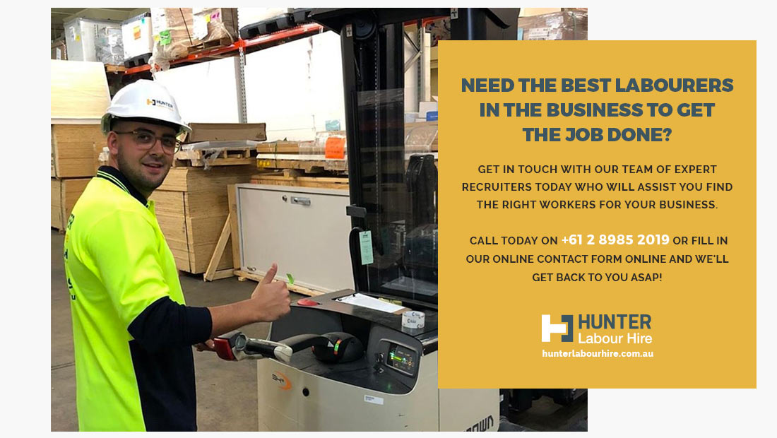 The best labourers in Sydney - Labour Hire Sydney - Hunter