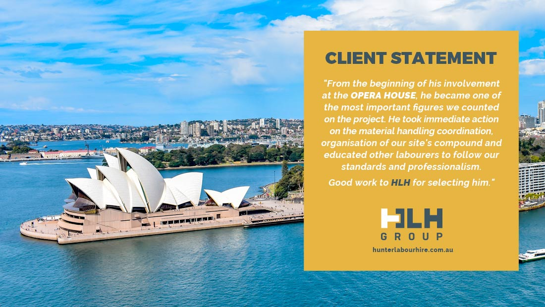 Labour Hire - Employee of the Month - August HLH Group Sydney