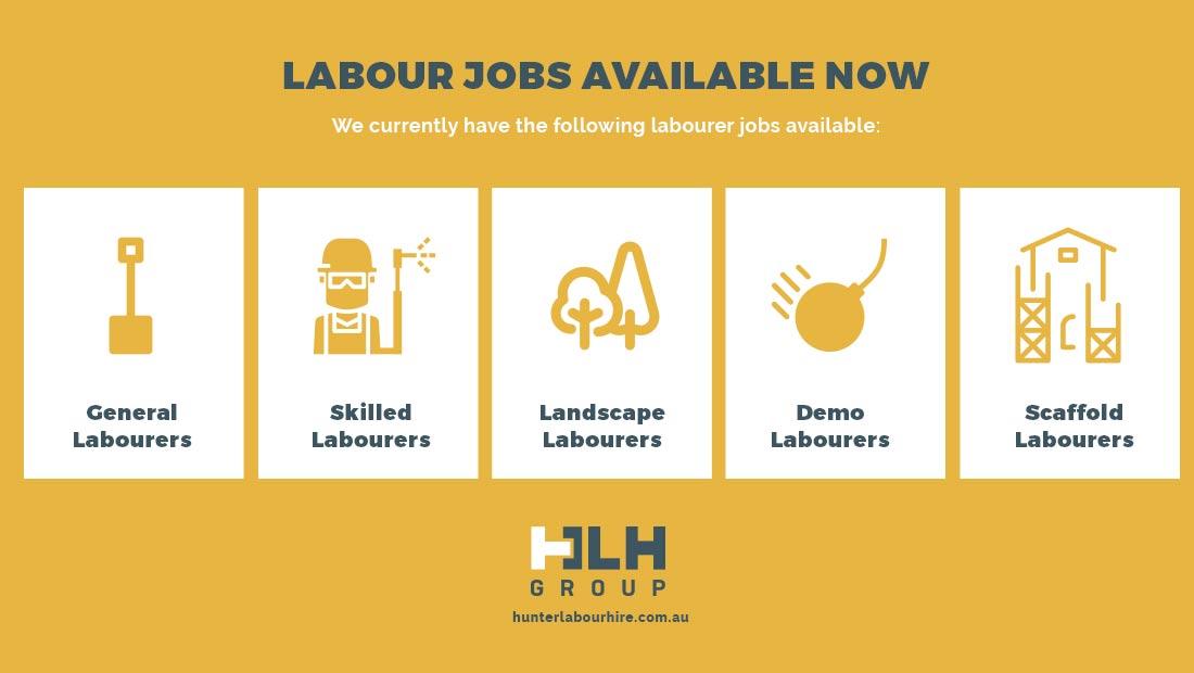 Labour Jobs Available Sydney - HLH Group Labour Hire