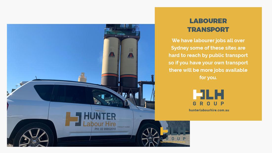 Transport for Labour Hire - HLH Group Labour Hire Sydney