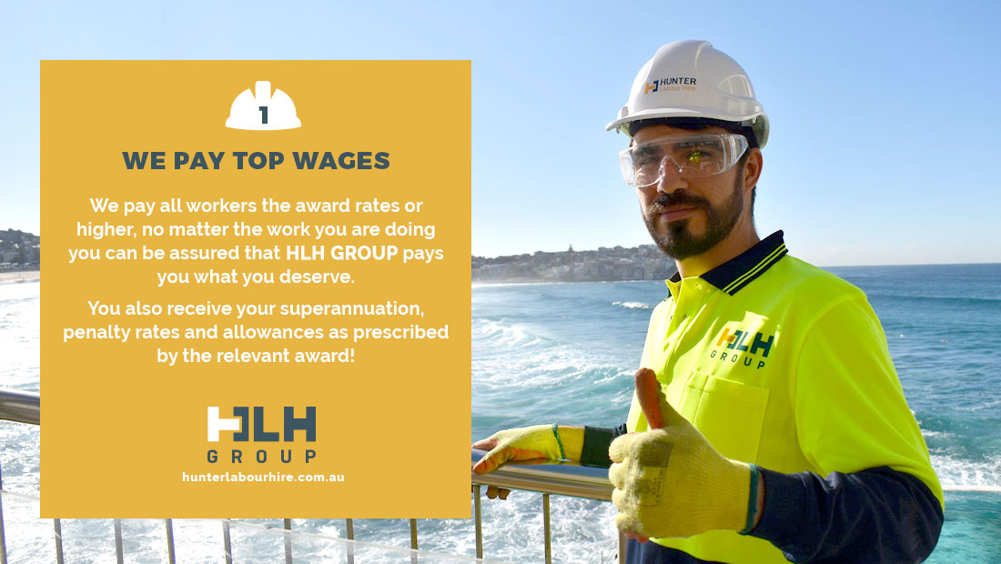 Great Labour Hire Rates Wages - Labour Hire - HLH Group Sydney
