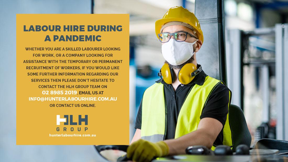 Labour Hire - Global Pandemic - HLH Group Sydney