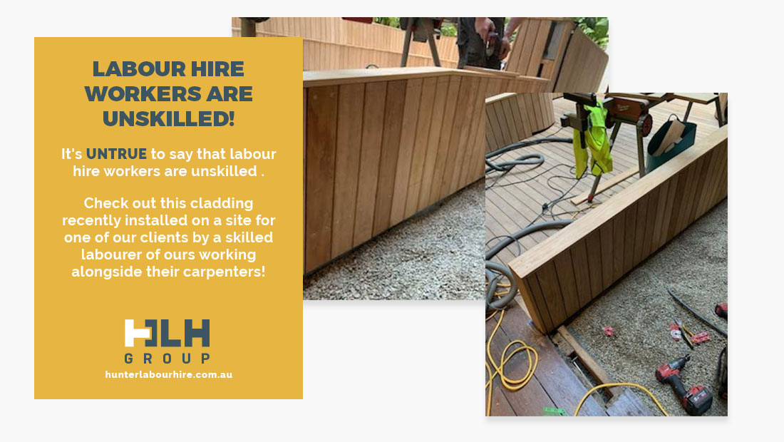 Labour Hire Workers Are Unskilled Myth - HLH Group - Labour Hire Sydney