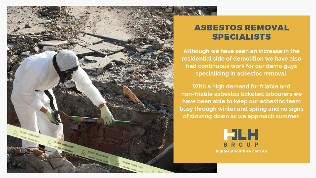 Asbestos Removal - Labour Hire Sydney - HLH Group