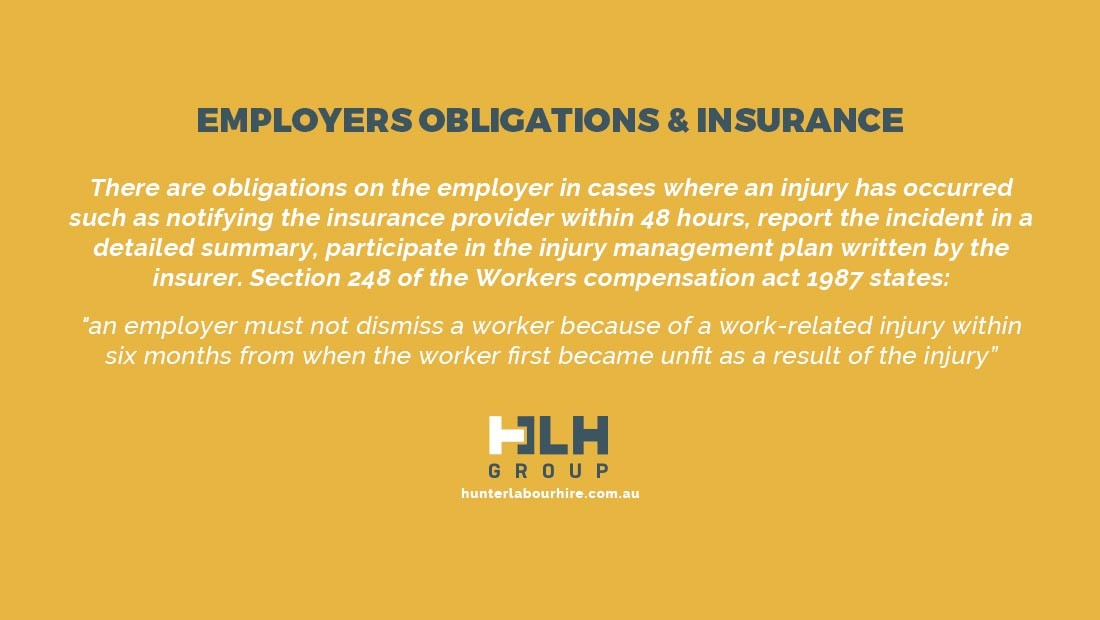 Employers Obligations and Insurance - HLH Group Sydney