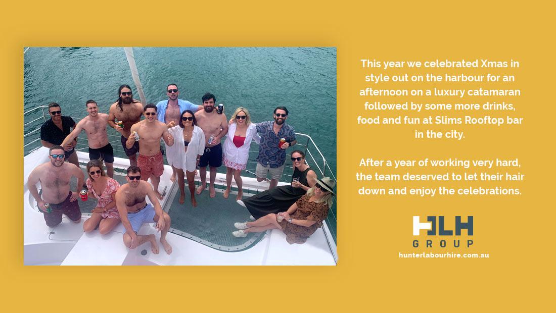 HLH Group Xmas in Catamaran - 2020