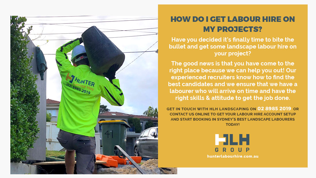 Hire Labour Hire Landscape - HLH Group Sydney