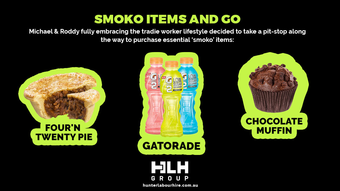 Labour Hire Smoko Items - HLH Group Sydney
