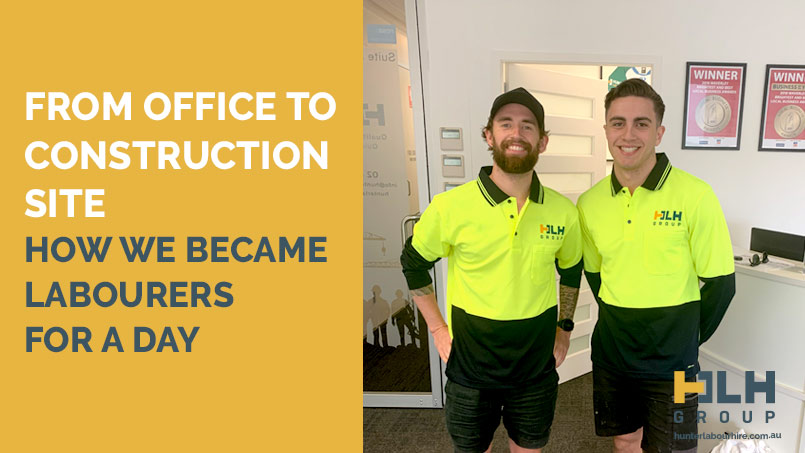 Labourer for a Day - HLH Group Sydney