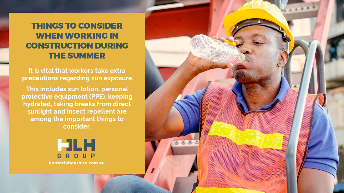 Things to Consider Working in Construction During Summer - HLH Group