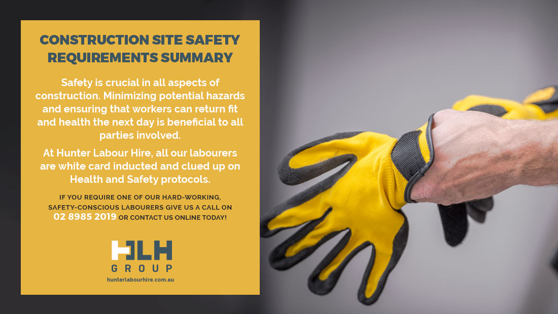 Construction Site Safety Requirements Summary - HLH Group Sydney