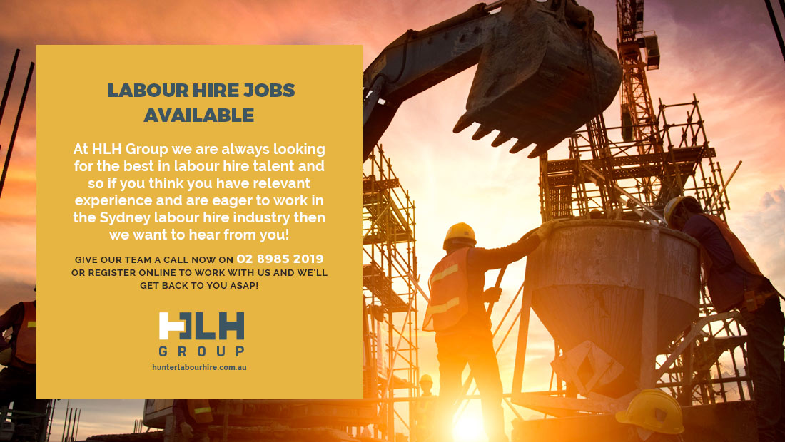 Labour Hire Jobs Available Sydney 2021- HLH Group