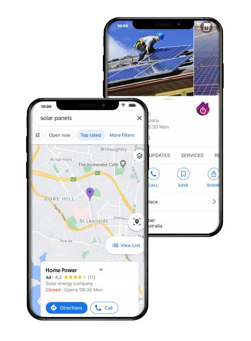 Set Up Google Maps My Business - Construction Company - HLH Marketing
