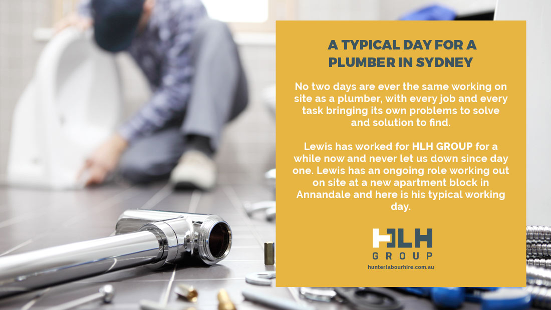 Typical Day Plumber Sydney - Annandale Apartments - HLH Labour Hire Group