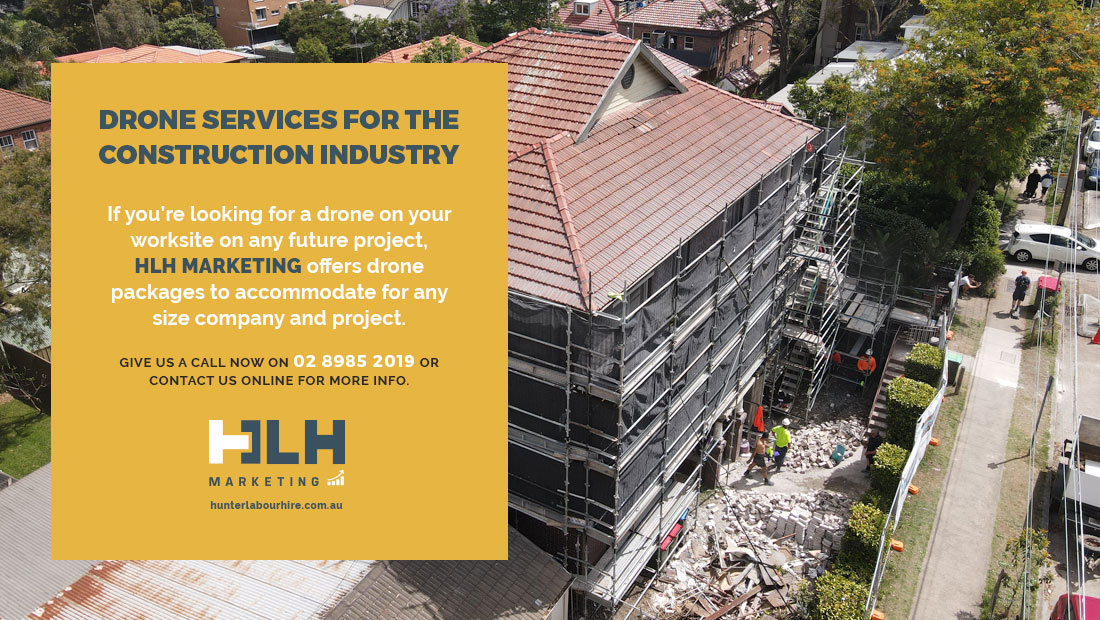 Drone Services Construction Industry - HLH Group Marketing Sydney