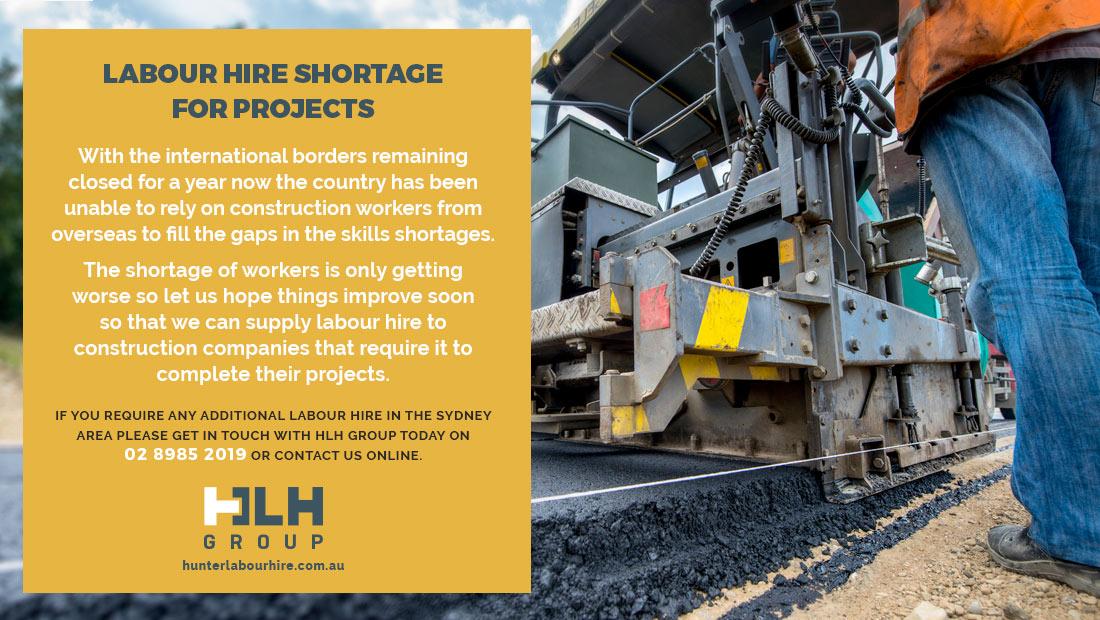 Labour Hire Shortage Projects - Labour Hire HLH Group