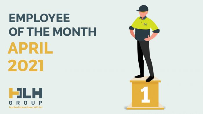 Employee of the Month - April 2021 - HLH Group Sydney