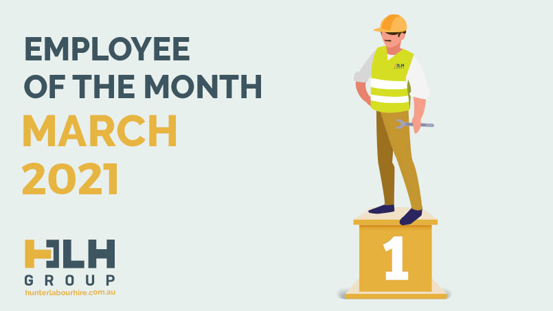 Employee of the Month HLH Group - March 2021