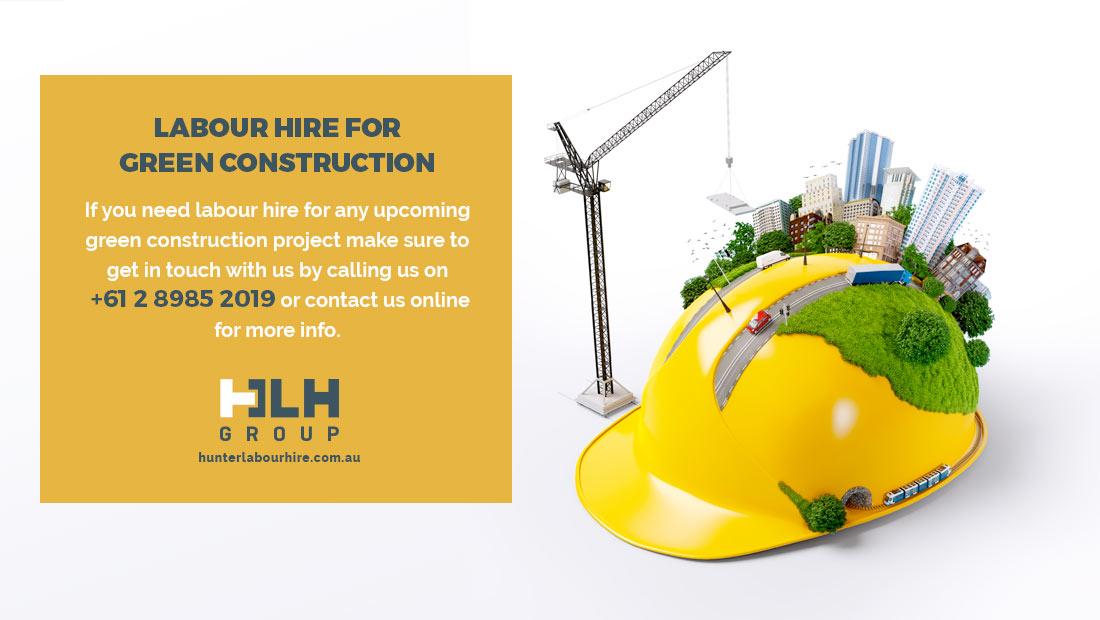 Labour Hire Green Construction - Labour Hire Sydney
