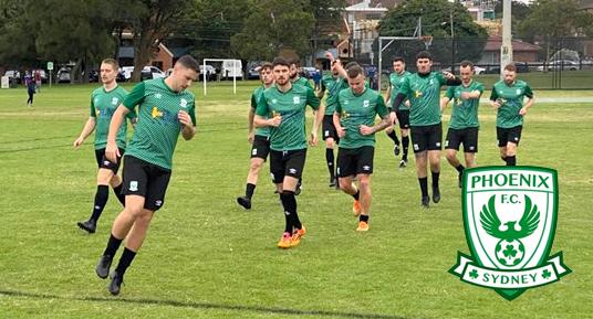 Sydney Phoenix FC - HLH Group Sponsor