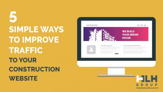 5 Ways Improve Traffic Construction Website - Hunter Labour Hire