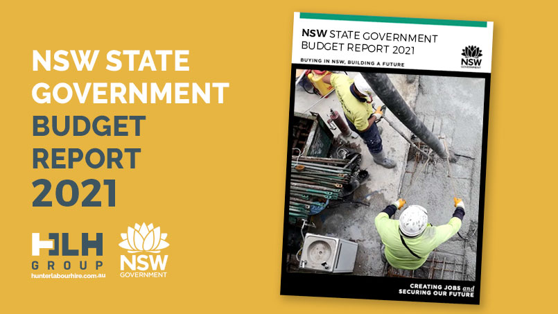 NSW State Government Budget Report 2021 - HLH Group Sydney