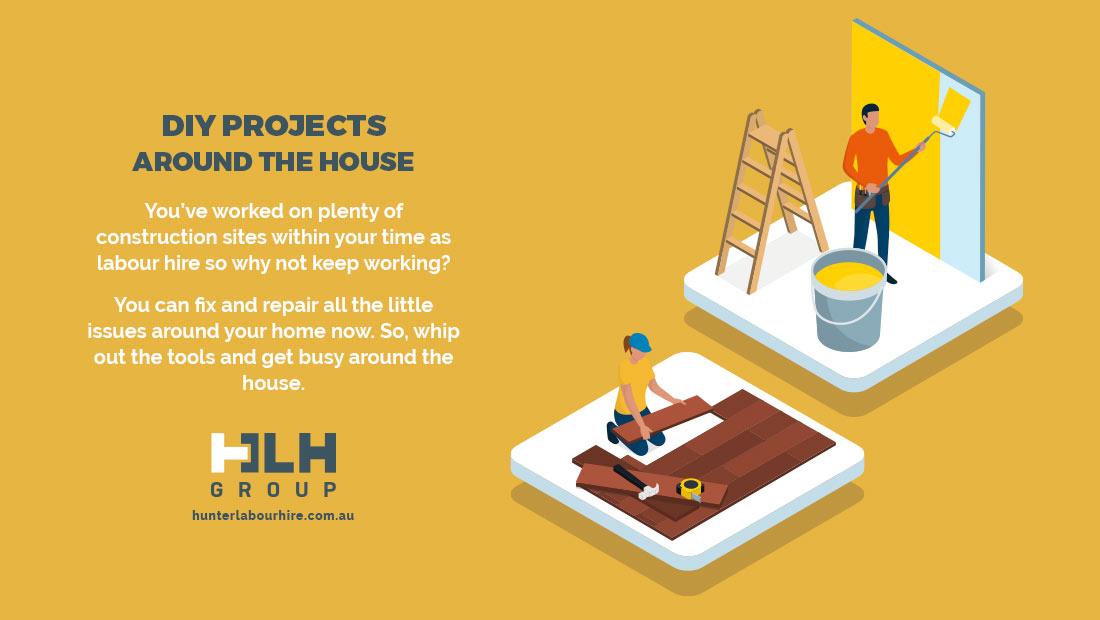 DIY Projects House - Lockdown Sydney 2021 - HLH Group Sydney